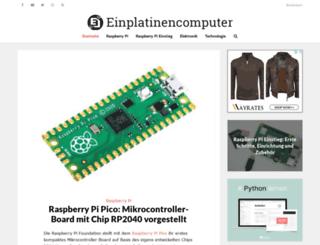 einplatinencomputer.com screenshot