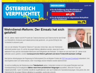 einsatz-fuer-oesterreich.at screenshot