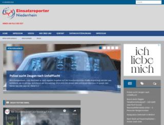 einsatzreporter-mg.de screenshot