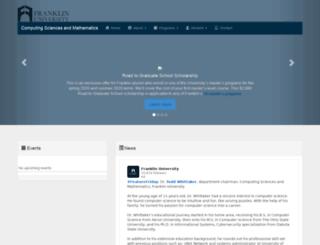 einstein.franklin.edu screenshot