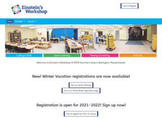 einsteinsworkshop.com screenshot