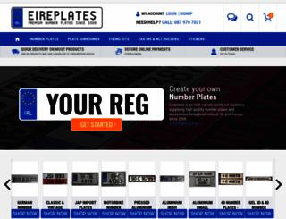 eireplates.com screenshot