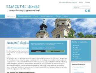 eisacktal-direkt.com screenshot