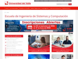 eisc.univalle.edu.co screenshot