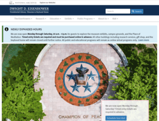 eisenhower.archives.gov screenshot