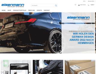 eisenmann-sportauspuff.de screenshot