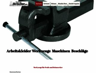 eisenwaren-loertscher.ch screenshot
