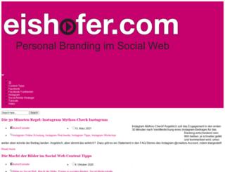 eishofer.com screenshot