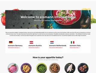 eismann.com screenshot