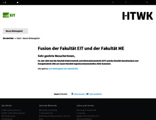 eit.htwk-leipzig.de screenshot