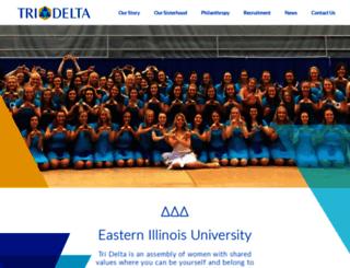 eiu.tridelta.org screenshot
