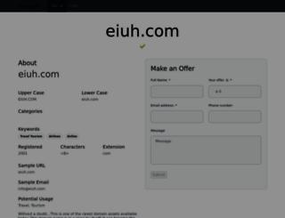 eiuh.com screenshot