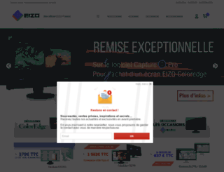 eizo.fr screenshot