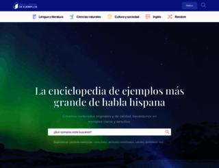 ejemplos.co screenshot