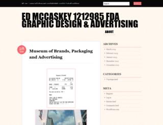 ejmccaskey.wordpress.com screenshot