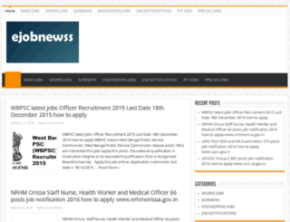 ejobnewss.com screenshot