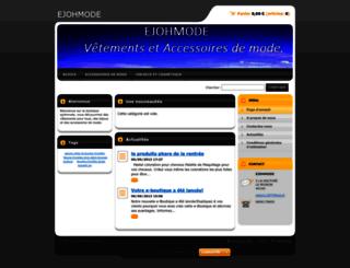 ejohmode.webnode.fr screenshot