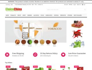 ejuicechina.com screenshot