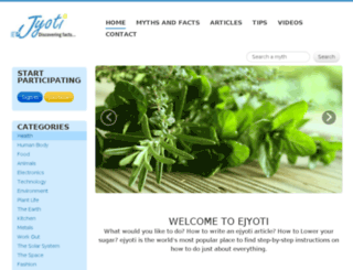 ejyoti.com screenshot