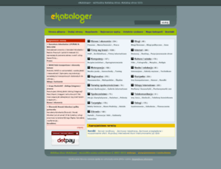 ekataloger.pl screenshot