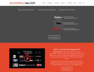 ekaterinawalter.com screenshot
