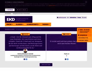 ekd.de screenshot