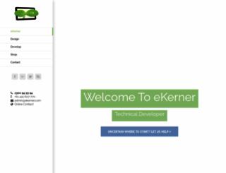 ekerner.com screenshot