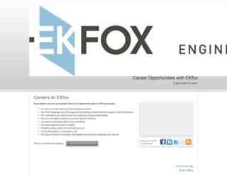 ekfox.hrmdirect.com screenshot