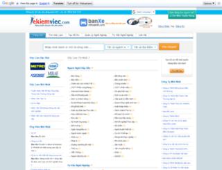 ekiemviec.com screenshot