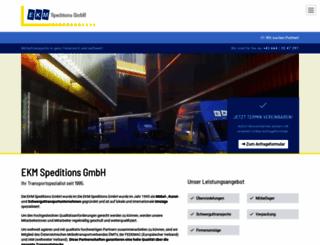 ekm-graz.com screenshot