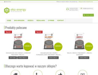 eko-groszek.org screenshot