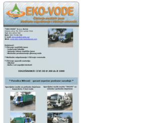 eko-vode.backabanat.com screenshot
