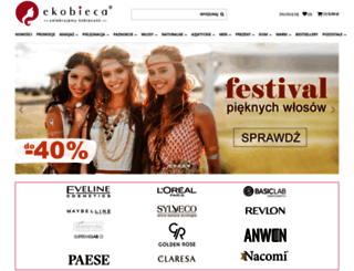 ekobieca.pl screenshot