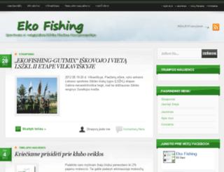 ekofishing.lt screenshot
