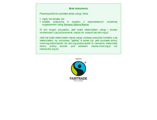 ekoimy.most.org.pl screenshot