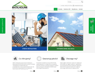 ekolhouse.pl screenshot