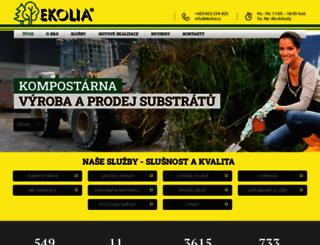 ekolia.cz screenshot