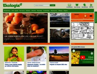 ekologia.pl screenshot