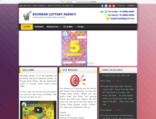 ekomkarlottery.com screenshot