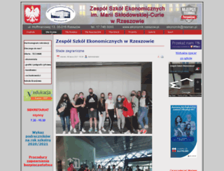ekonomik.rzeszow.pl screenshot
