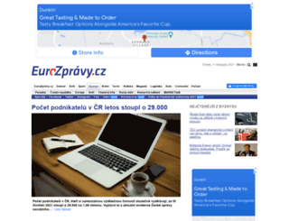 ekonomika.eurozpravy.cz screenshot