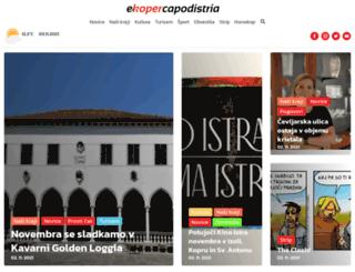 ekoper.si screenshot