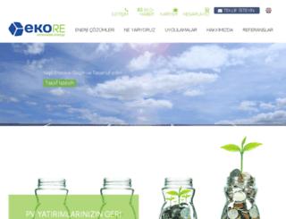 ekore.sercotec.net screenshot