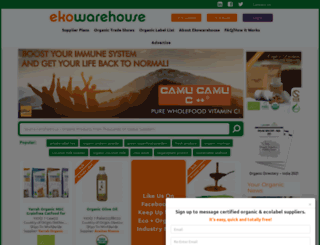 ekowarehouse.com screenshot