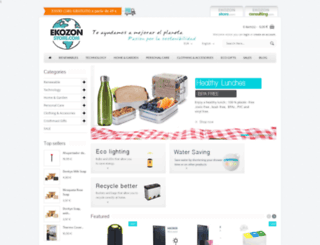 ekozonstore.com screenshot