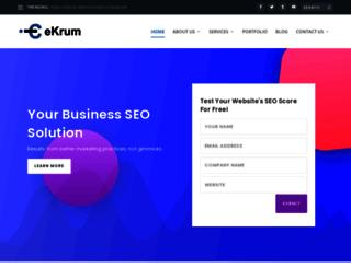 ekrum.com screenshot