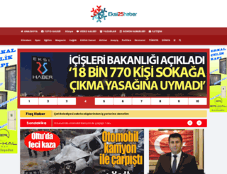 eksi25haber.com screenshot