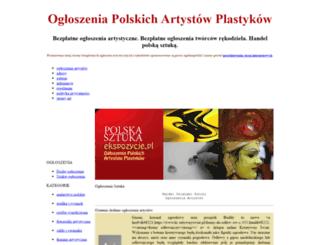 ekspozycje.pl screenshot
