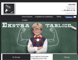 ekstra-tablice.pl screenshot