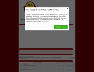 ekstraklasakibice.fora.pl screenshot